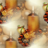 369624 candles golden xmas